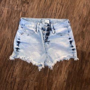 Mudd Womens Jean Shorts